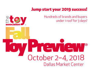Fall Toy Preview 2018